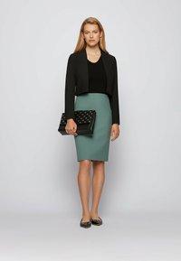 BOSS - VEROKI - Pencil skirt - light green - 1