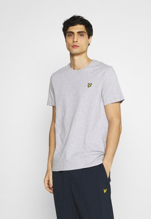 PLAIN - Basic T-shirt - light grey marl