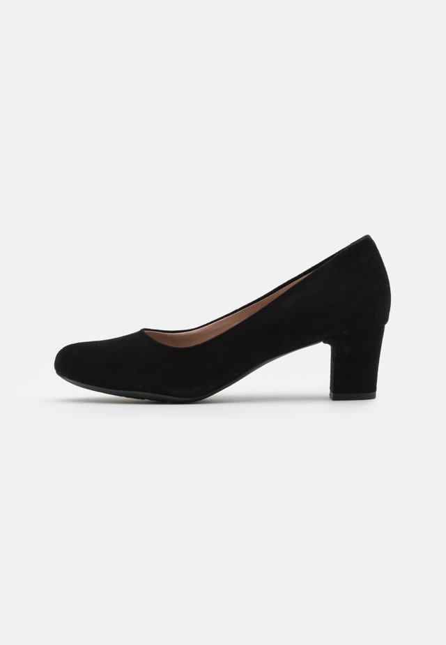 UMBRETTA - Tacones - black