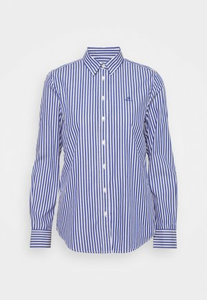 THE BROADCLOTH STRIPED - Camicetta - college blue