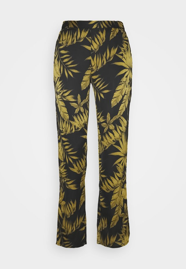 GARDEN PANTALON - Spodnie materiałowe - noir