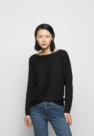 BRIGHT BOATNECK - Jumper - black