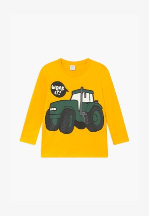 MINI EXCAVATOR - Long sleeved top - yellow