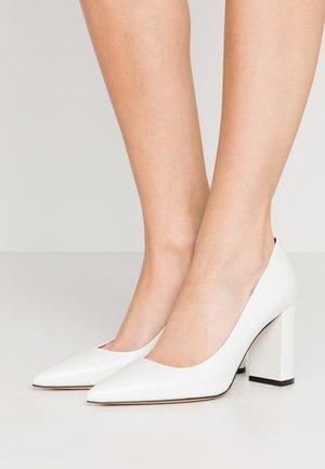 ZOE  - Lodičky na vysokém podpatku - white
