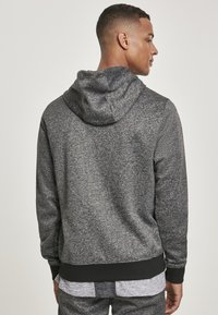 Southpole - HERREN MARLED TECH FLEECE FULL ZIP HOODY - Sweatjacke - marled black - 2