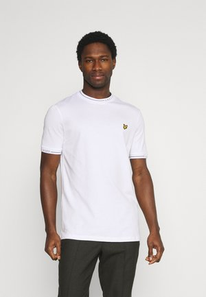 SEASONAL BRANDED - Basic T-shirt - white