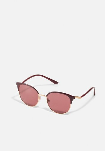 Solglasögon - pink gold-coloured/bordeaux