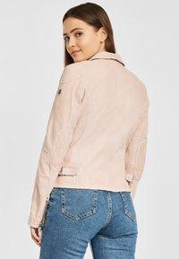 Gipsy - PGG LABAGV - Leather jacket - pink - 2