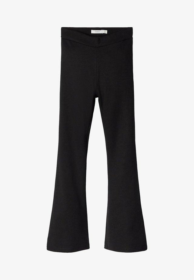 NKFFRIKKALI BOOTCUT  - Pantalon classique - black