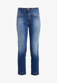 CLOSED - PEDAL PUSHER - Jeans Tapered Fit - mid blue - 4