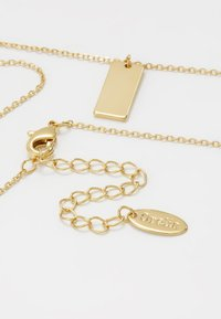 Orelia - CLEAN TAG DITSY NECKLACE - Halskette - pale gold-coloured - 2