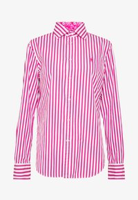 Polo Ralph Lauren - GEORGIA  - Button-down blouse - pink/white - 4