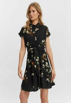 VMHALLIE - Shirt dress - black