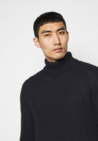 Les Deux - FERDINAND TURTLENECK - Jumper - dark navy - 3