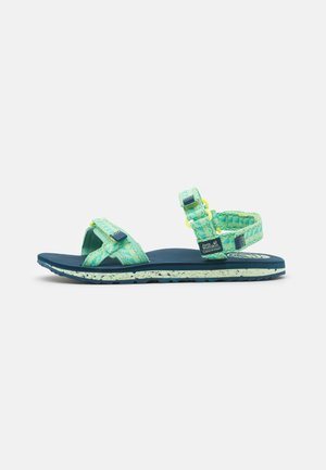 OUTFRESH - Walking sandals - green/blue