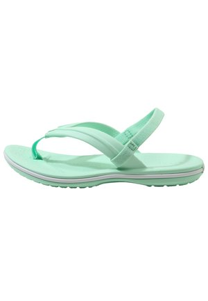 CROCBAND STRAP FLIP RELAXED FIT - Pool shoes - neo mint