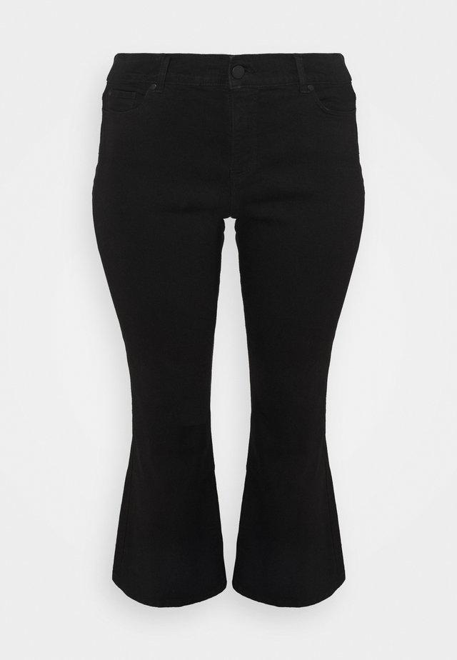 BOOTCUT - Jean bootcut - black