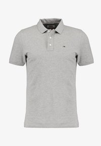 Tommy Jeans - ORIGINAL FINE SLIM FIT - Polo shirt - light grey - 3