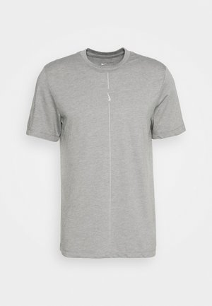 DRY TEE YOGA - Basic T-shirt - iron grey/smoke grey