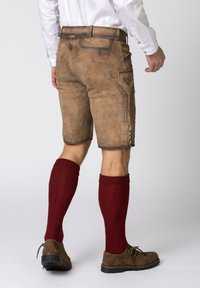 Stockerpoint - Leather trousers - brown - 1