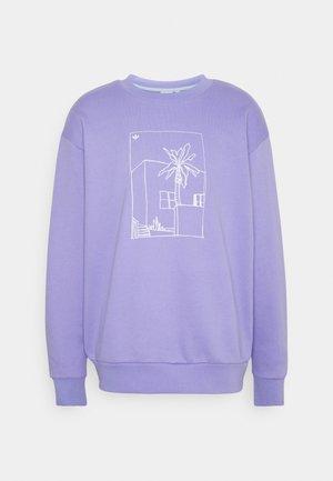 GRAPHIC CREW - Sweatshirt - light purple