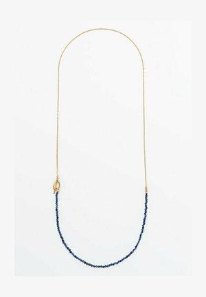 MIT BLAUEN STEINCHEN - Necklace - blue