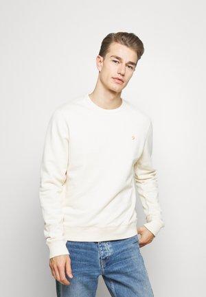 TIM CREW - Sweatshirt - cream