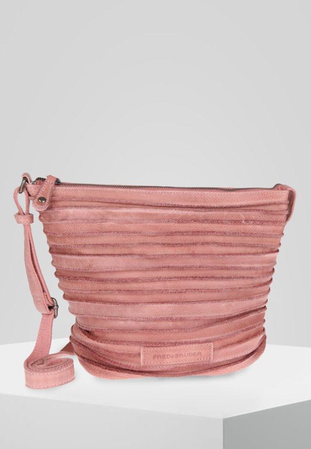 Across body bag - light rose