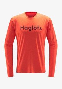 Haglöfs - RIDGE LS TEE - Long sleeved top - habanero - 4