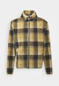 Brixton - LANE MOCK NECK X ZIP - Vest - brown - 0