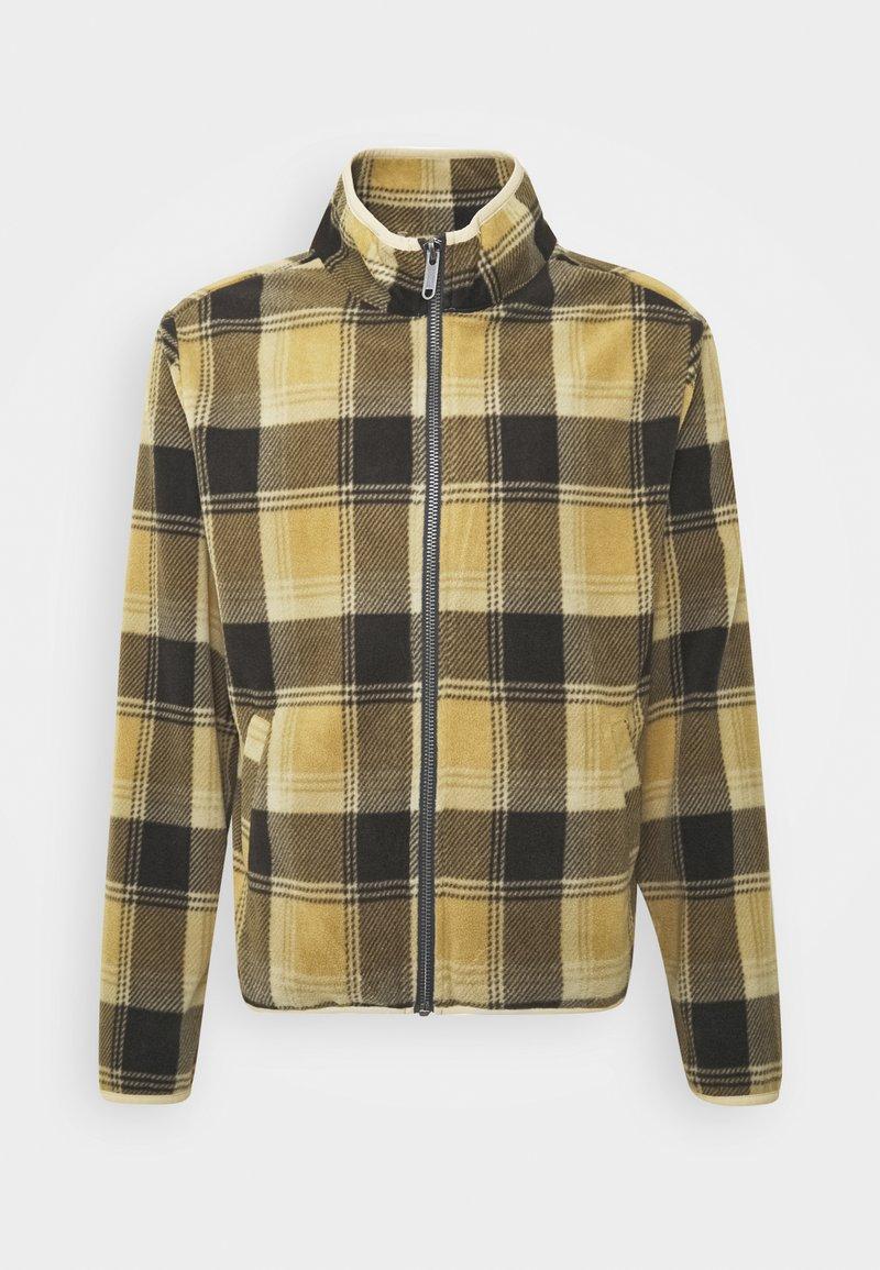Brixton - LANE MOCK NECK X ZIP - Vest - brown