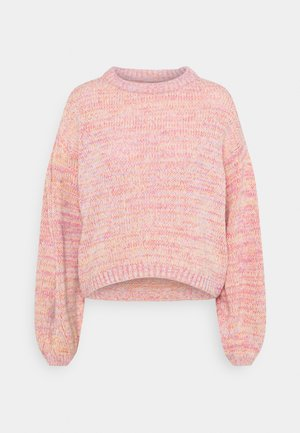 ONLGENNY - Jumper - blush/multi melange