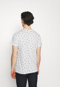 Blend - TEE  - T-shirt med print - snow white - 2