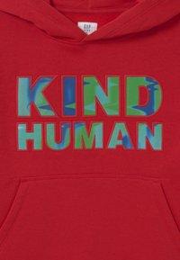 GAP - BOY GRAPHIC HOOD - Sweatshirt - modern red - 2