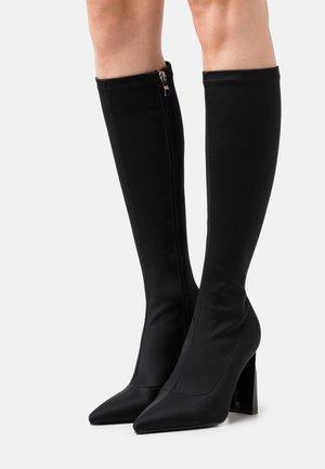 HEIDIE - Stivali con i tacchi - black