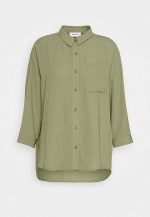 ALEXIS - Button-down blouse - light khaki