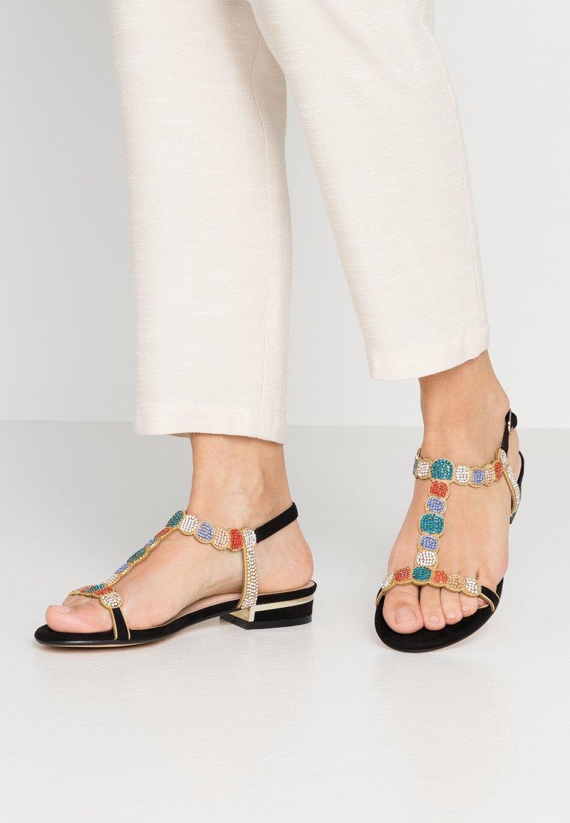 Menbur - Sandals - black