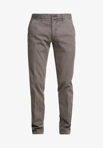 DOBBY STRUCTURE - Chinos - castlerock