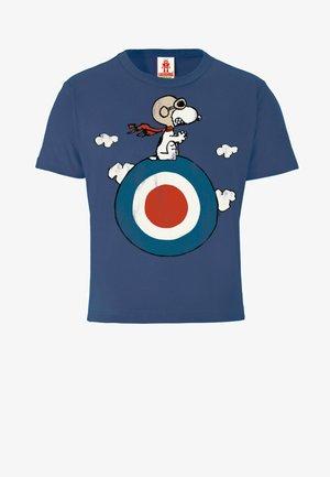 PEANUTS SNOOPY - Print T-shirt - blau