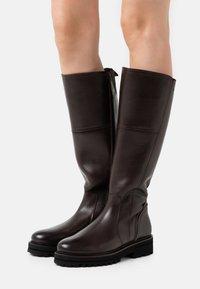 Marc O'Polo - LICIA  - Boots - dark brown - 0