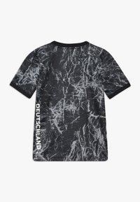 adidas Performance - DFB DEUTSCHLAND PRESHI Y - Print T-shirt - black/grey heather - 1