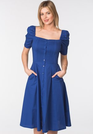 CLARA - Day dress - blue