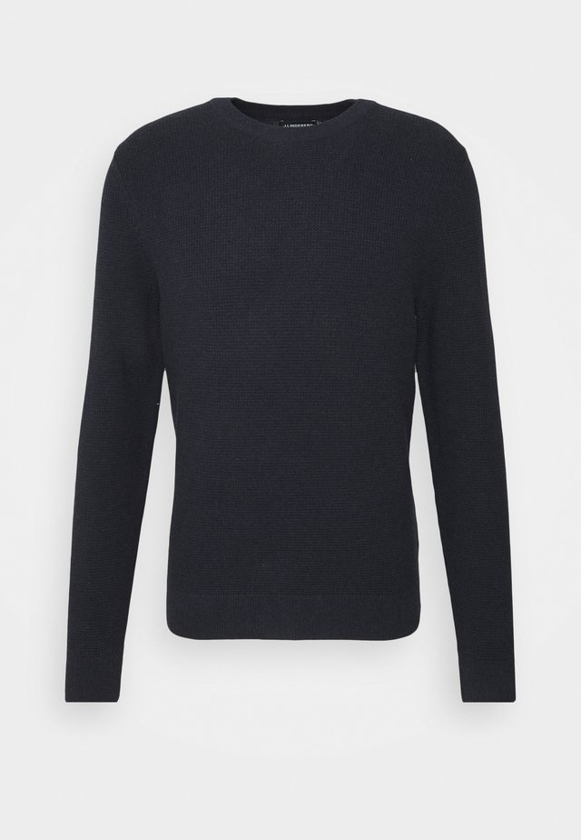 ANDY STRUCTURE C-NECK - Pullover - navy