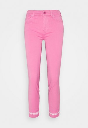 ROXANNE ANKLE COLLEFHAN - Jeans Skinny Fit - pink