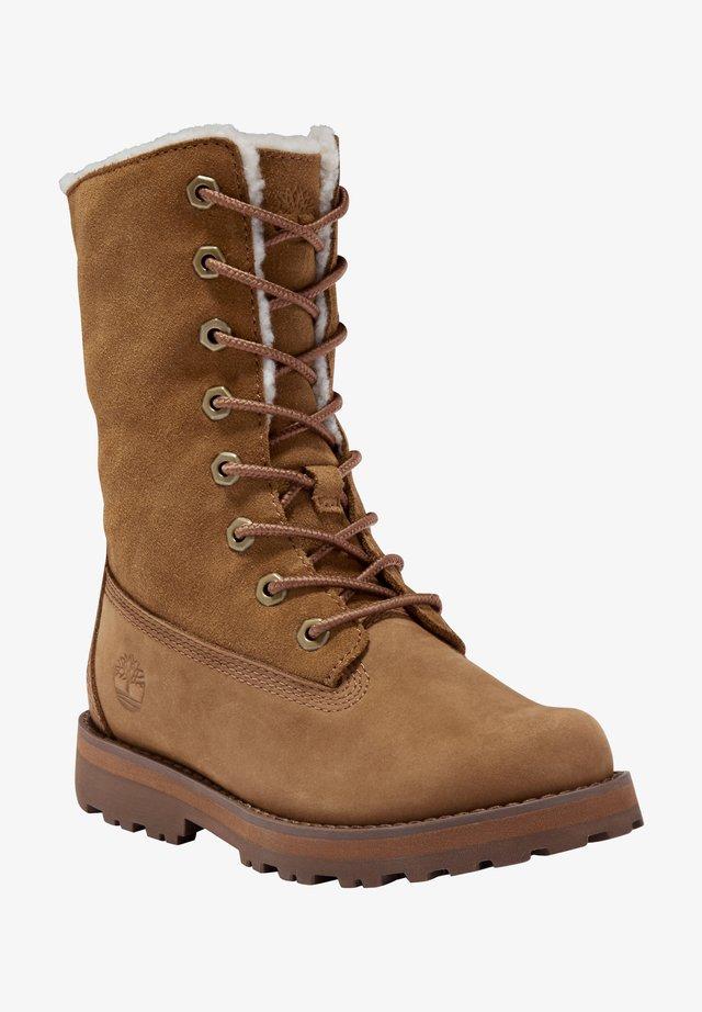 Winter boots - rust nubuck