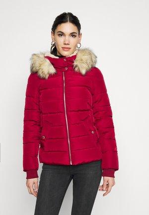ONLCAMILLA QUILTED JACKET  - Vinterjakke - rhubarb