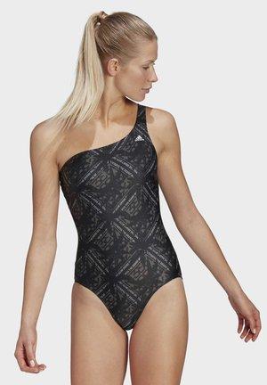 SH3.RO ASYMMETRICAL FESTIVIBES SWIMSUIT - Swimsuit - black