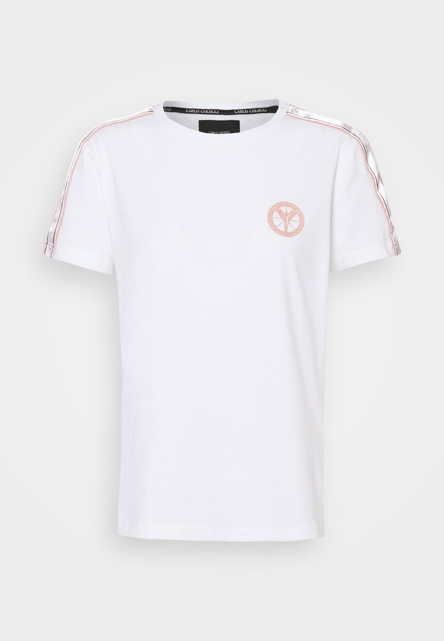 BASIC - T-shirt print - white