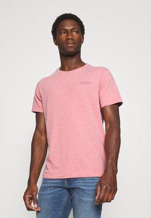 KURZARM - Basic T-shirt - red melange