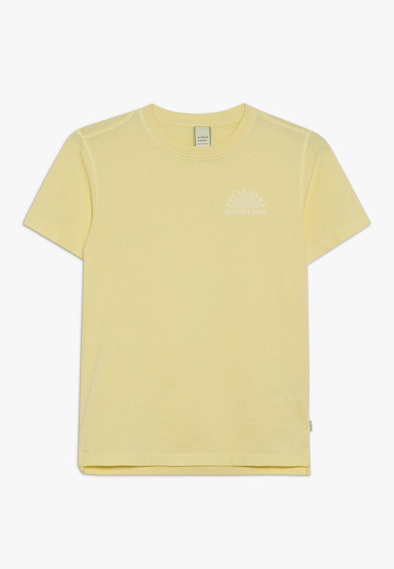 Scotch & Soda - WITH ARTWORKS - Print T-shirt - lemonade